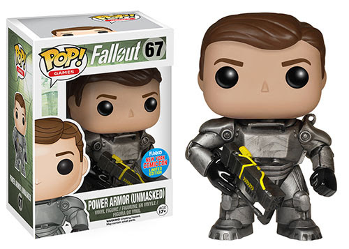 Pop Games Fallout Power Armor Unmasked