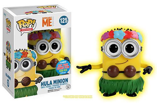 Pop Movies Despicable Me 2 Glow Hula Minion