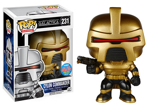 Pop TV Battlestar Classic Commander Cylon