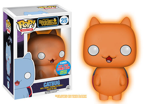 Pop TV Bravest Warrior Catbug Orange Glow
