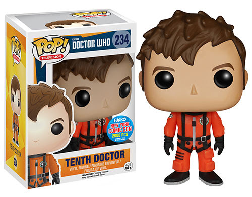 Pop TV Doctor Who Tenth Doctor in Spacesuit