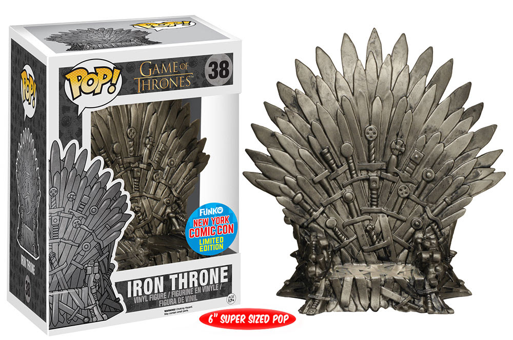 Pop! TV- Game of Thrones - 6 Iron Throne