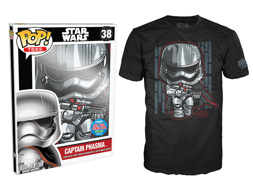 Funko Pop! Tees- Star Wars Episode VII - Captain Phasma