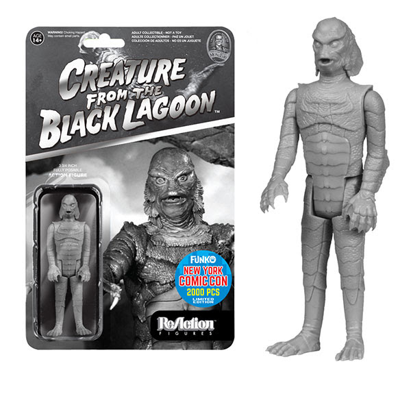 ReAction Universal Monsters Black & White Creature from the Black Lagoon