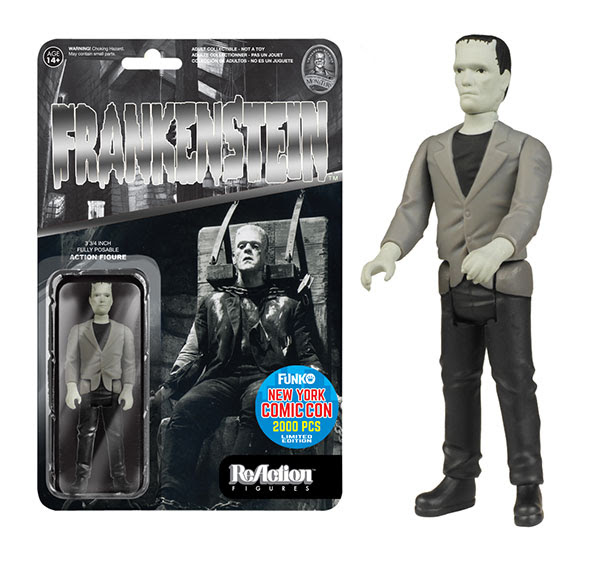 ReAction Universal Monsters Black & White Frankenstein