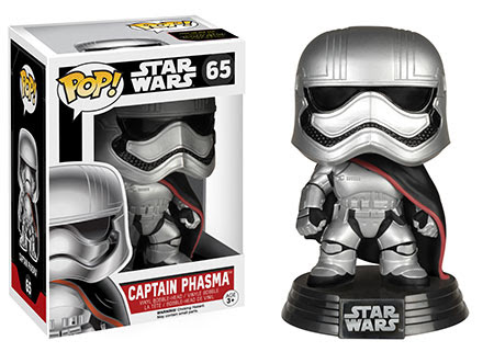 Star Wars Episode VII The Force Awakens Captain Phasma Vinyl figure.