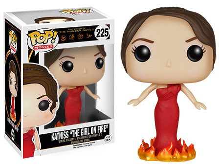 The Hunger Games Katniss The Girl on Fire Funko Pop figure