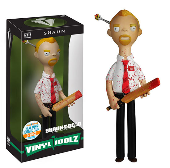 Vinyl Idolz Shaun of the Dead Bloody Shaun