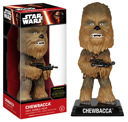 Wacky Wobblers Star Wars The Force Awakens Chewbacca