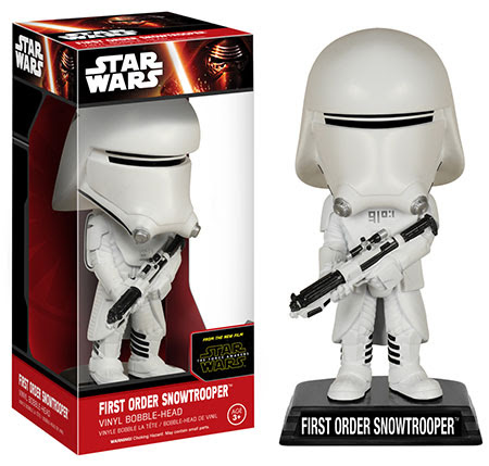 Wacky Wobblers Star Wars The Force Awakens First Order Snowtrooper