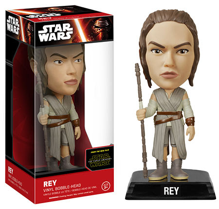 Wacky Wobblers Star Wars The Force Awakens Rey