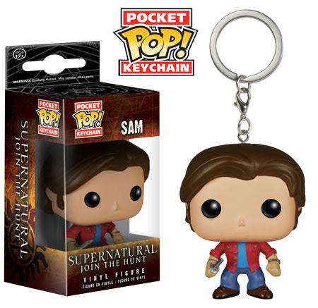 Funko Pocket Pop Keychain Supernatural Sam