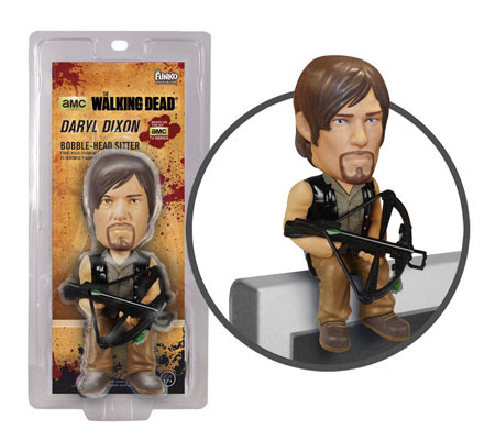 Funko The Walking Dead Daryl Dixon Bobble head computer sitter figure