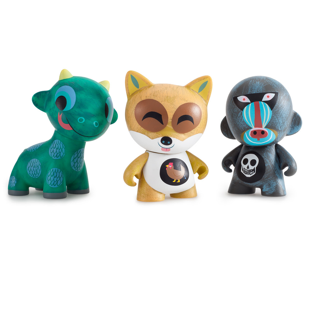 Kidrobot x Amanda Visells Ferals Mini Series