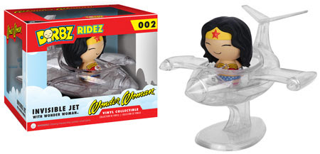 Dorbz Ridez Wonder Woman with Invisible Jet