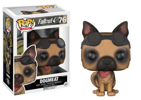 Fallout 4 Dogmeat Funko Pop Vinyl figure
