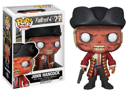 John Hancock Funko Pop vinyl figure Fallout