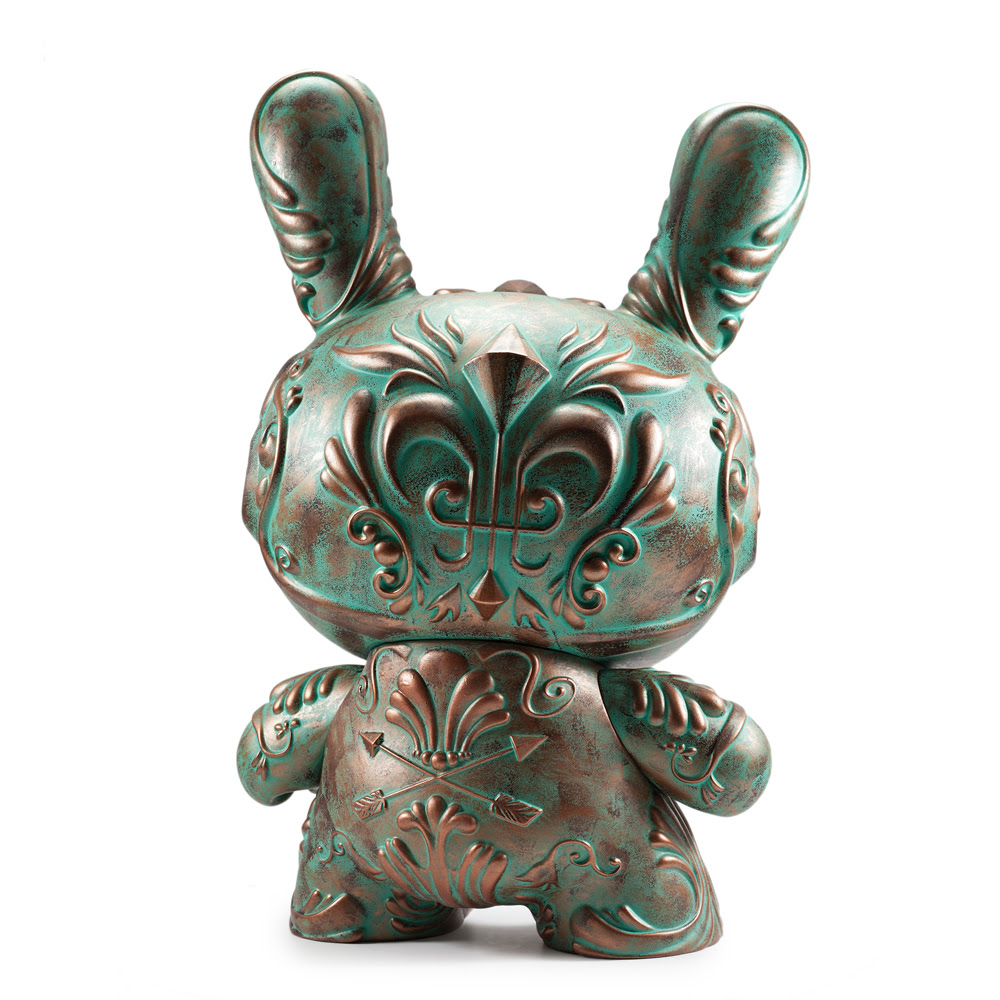 "Kidrobot Exclusive Patina ""It's a F.A.D."" Dunny by J*RYU"