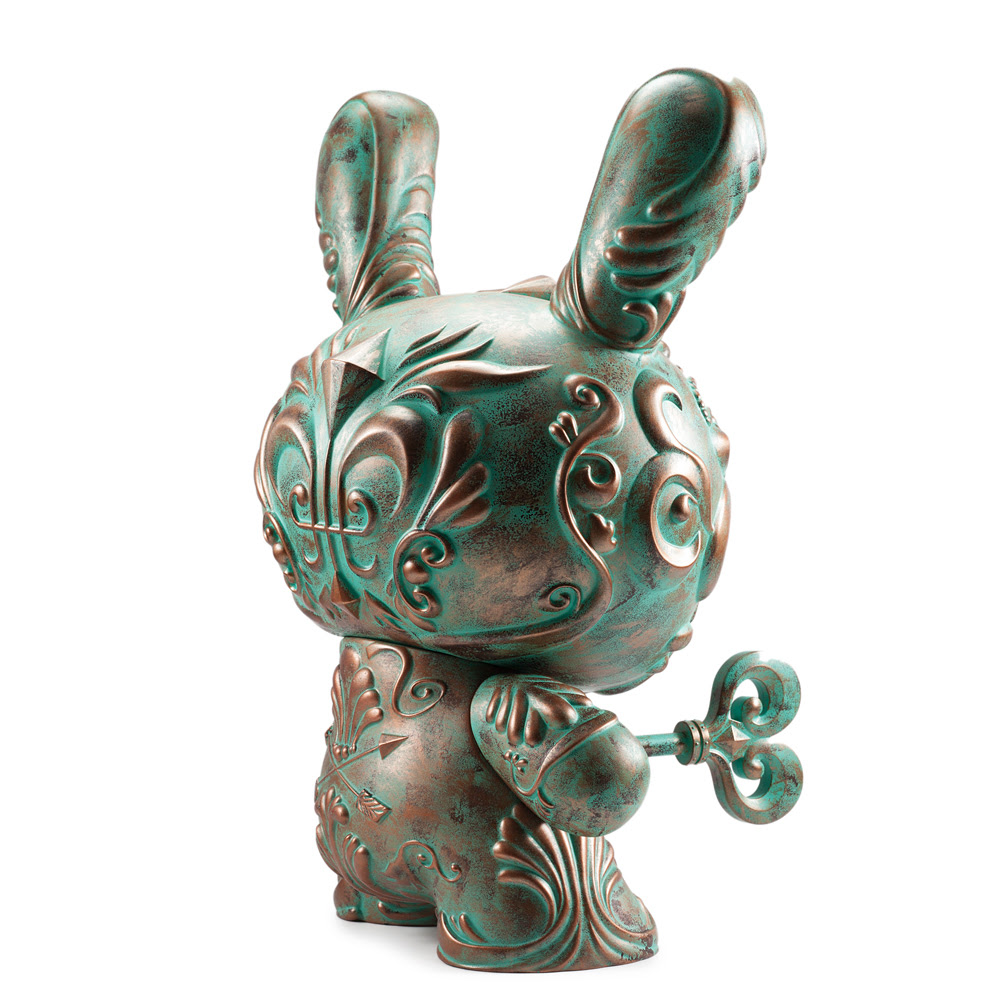 Kidrobot Exclusive Patina It's a F.A.D. Dunny by J*RYU