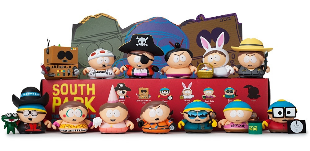Kidrobot South Park The Many Faces of Cartman