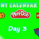 Lego Star Wars, Lego City, Play Doh Advent Calendars 2015 Day 03 Opening