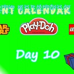 Lego Star Wars, Lego City, and Play Doh Advent Calendars 2015 Day 10 Opening