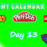 Lego Star Wars, Lego City, and Play Doh Advent Calendars 2015 Day 13 Toys
