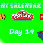 Lego Star Wars, Lego City, and Play Doh Advent Calendars 2015 Day 19 Opening