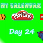 Lego Star Wars, Lego City, and Play Doh Advent Calendars 2015 Day 24 Opening
