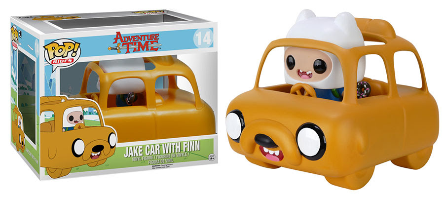 Adventure Time Jake Car with Finn