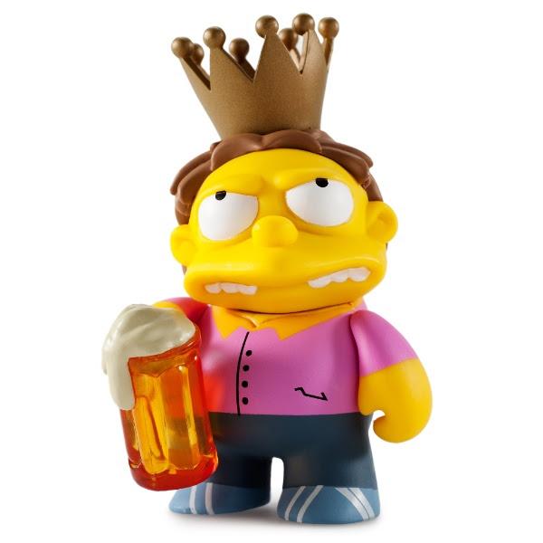 Barney Kidrobot Mystery boxed Simpsons figure