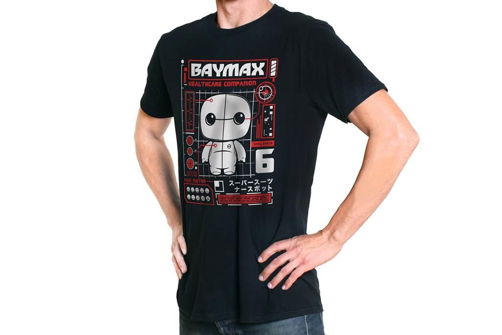 Baymax Big Hero 6 Funko Pop Tees