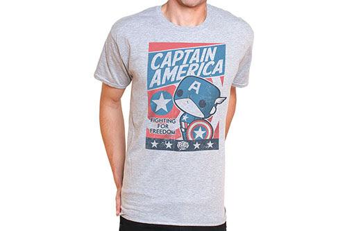 Captain America Funko Pop Tees