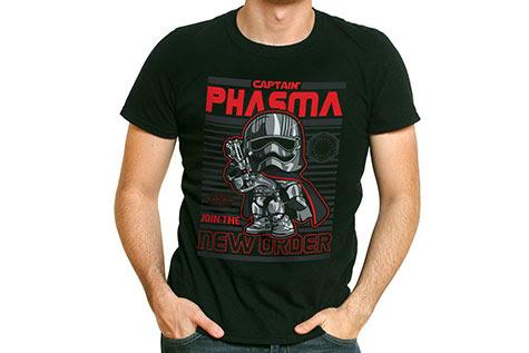 Captain Phasma Funko Pop Tees