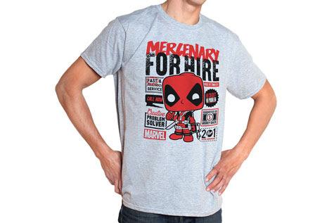 Deadpool Marvel Funko Pop Tees 3