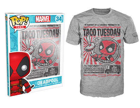 Deadpool Taco Tuesday Funko Pop Tees