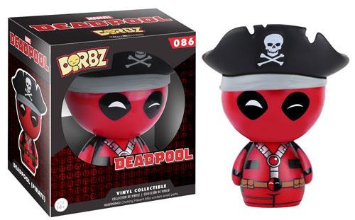Dorbz Pirate Deadpool vinyl figure