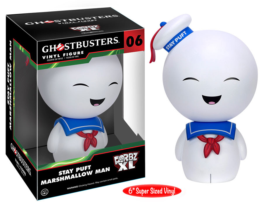 Dorbz XL Stay Puft Marshmallow Man Vinyl Figure