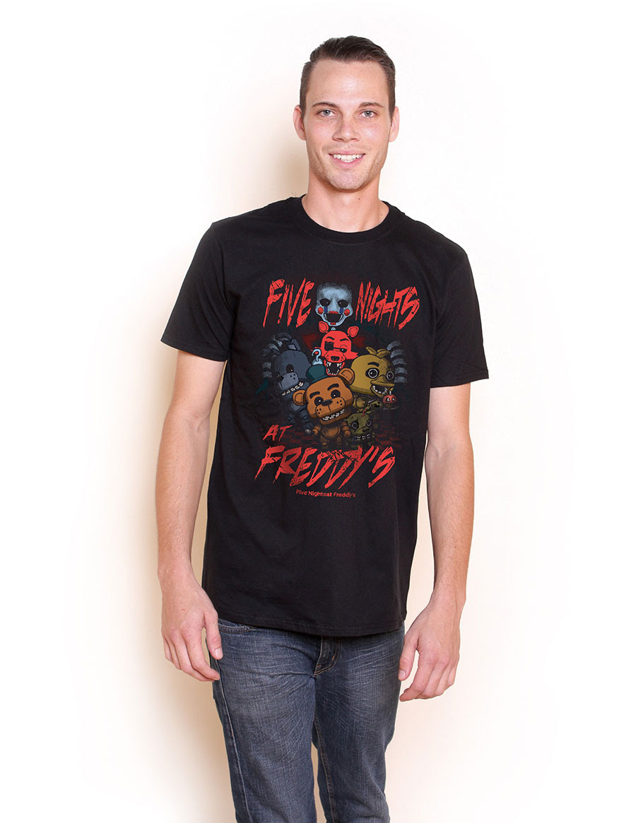 Five Nights at Freddys Pop Tees