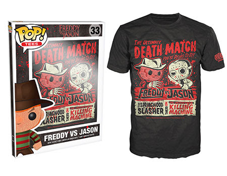 Freddy Vs Jason Funko Pop Tees
