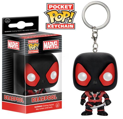 Funko Marvel Pocket Pop Deadpool Keychain