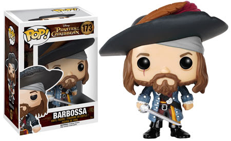 Funko Pop! Captain Barbossa vinyl figure