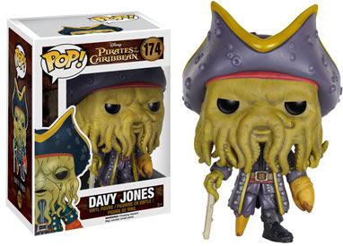 Funko Pop! Davy Jones vinyl figure