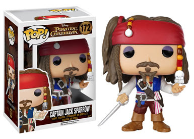 Funko Pop! Captain Jack Sparrow vinyl figure