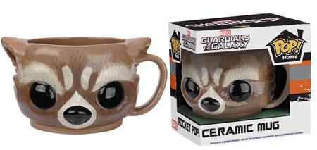 Funko Pop Home Guardians of the Galaxy Rocket Raccoon Ceramic Mug