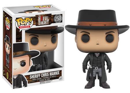 Funko Pop! The Hateful Eight Sheriff Christ Mannix