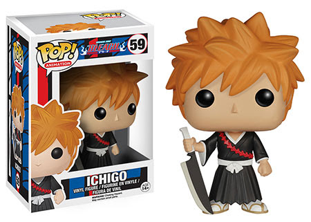 Funko Pop! Anime Vinyl figures, Bleach and Tokyo Ghoul
