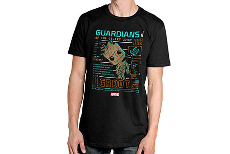 Guardians of the Galaxy Groot Funko Pop Tees