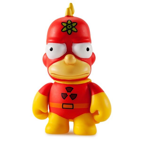 Homer Kidrobot Mystery boxed Simpsons figure