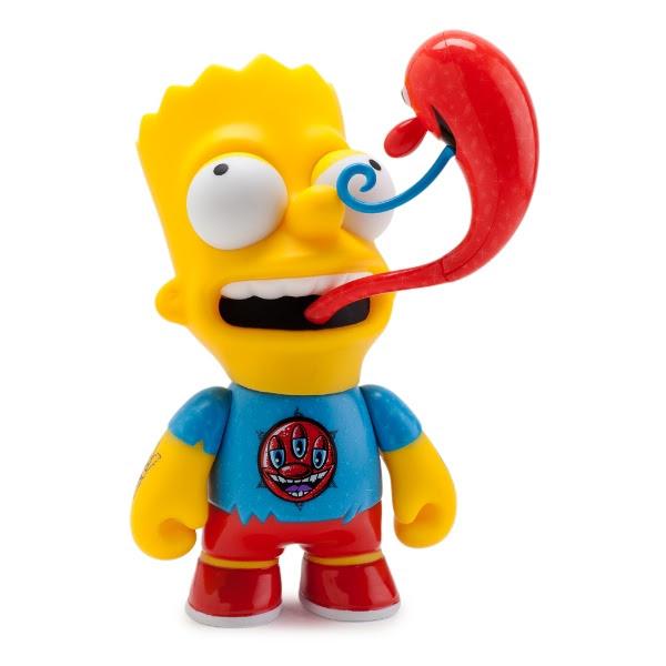 Kenny Scharf's 6 inch Bart Simpson Medium Figure, Kidrobot